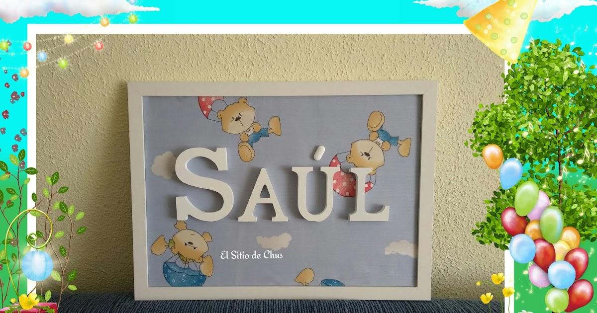 d4eab6c6a El sitio de Chus: Cuadro bienvenida a Saúl!