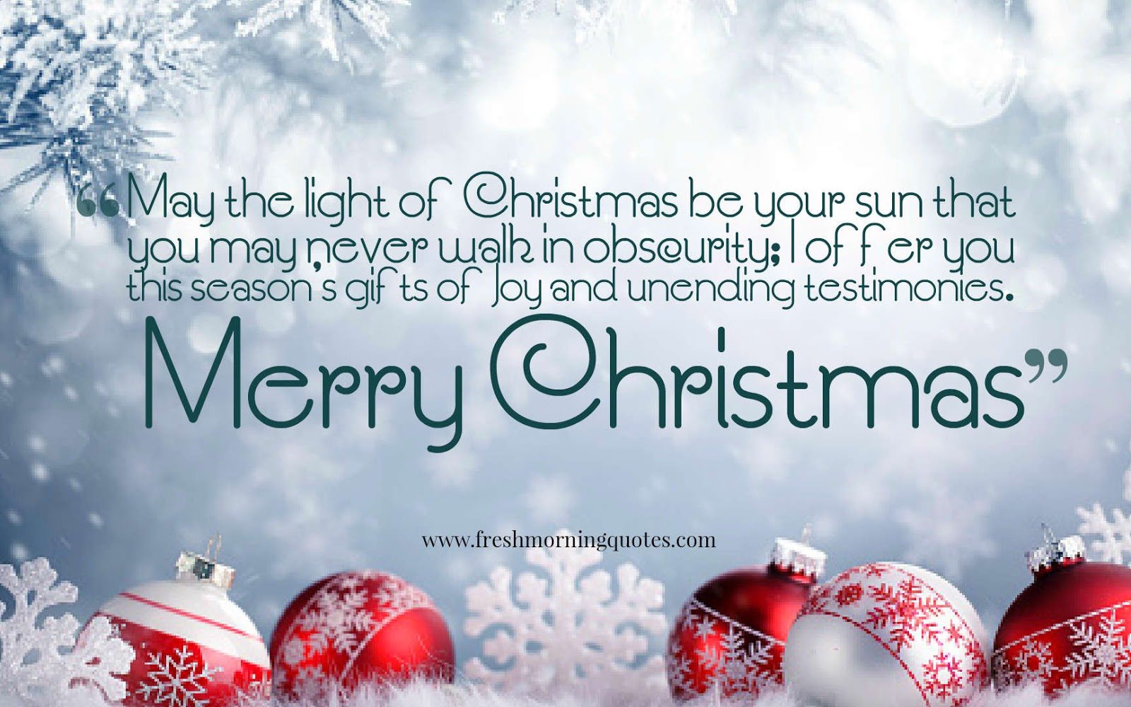 Heart Touching Merry Christmas Wishes for family