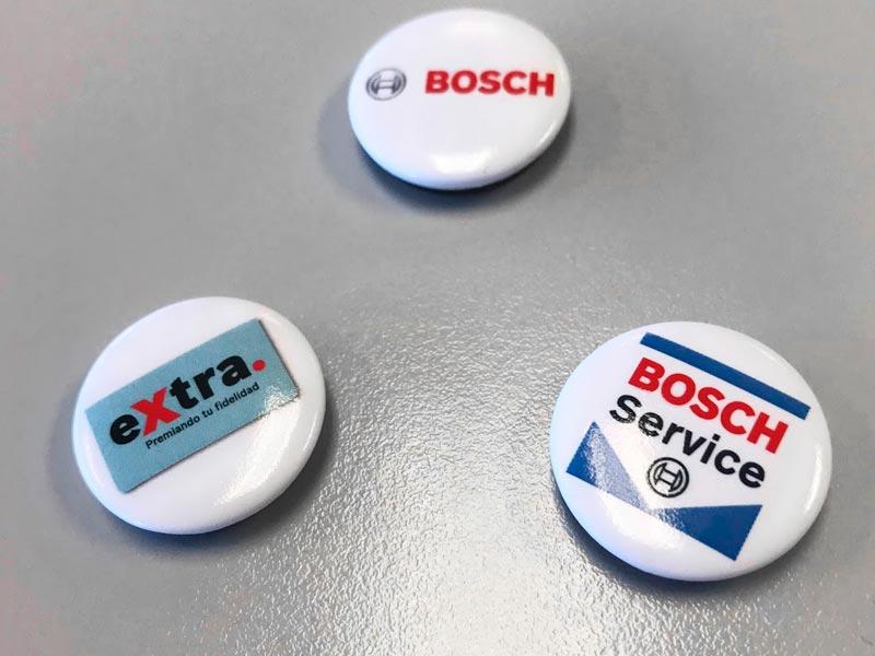 imanes Bosch Carrera del taller 2018