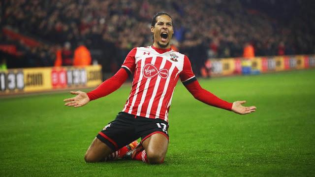 Van Dijk Sudah Ingin hengkang, Tapi Southampton...