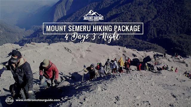 Mount Semeru Hiking Package 4 Days 3 Nights Bromo Tour Package
