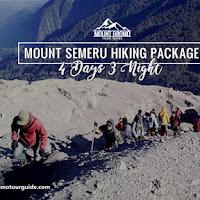 Mount Semeru Hiking Package 4 Days 3 Nights