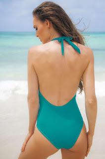 Costum De Baie Cosita Linda Tropical Heaven Turquoise • Cosita Linda2