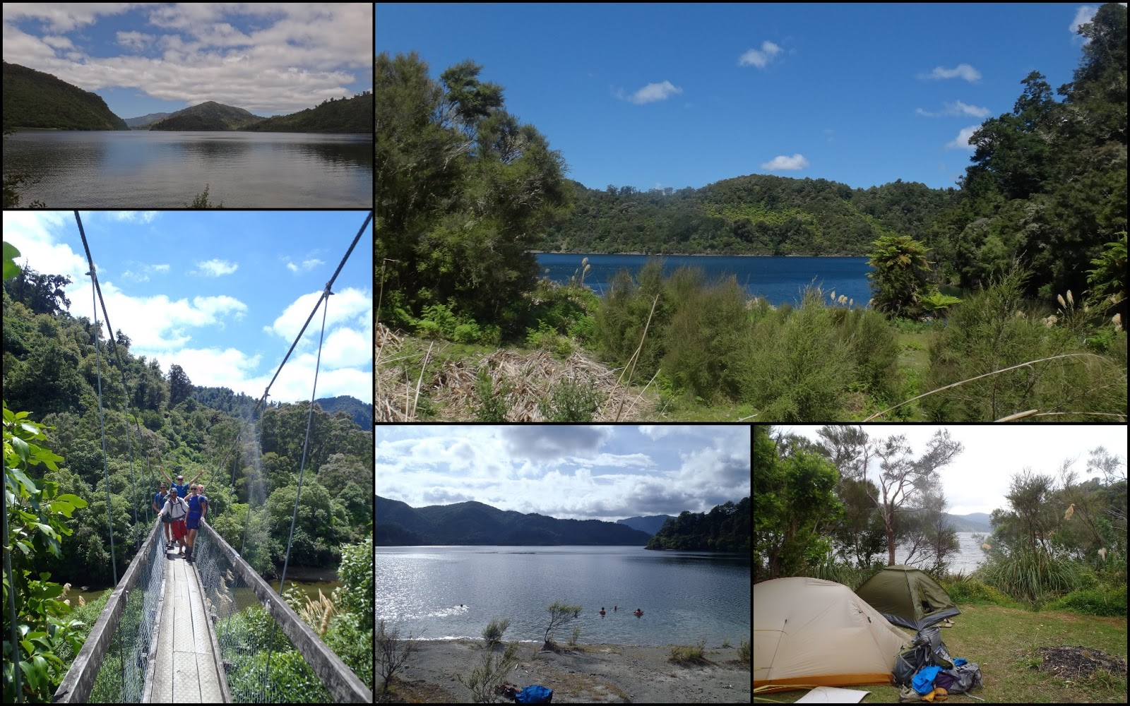 Where is Thibault: Lake Waikaremoana, unknown paradise !!