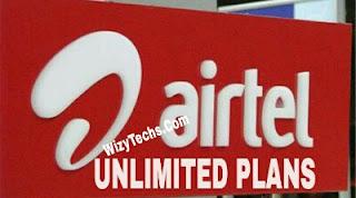 Airtel unlimited data