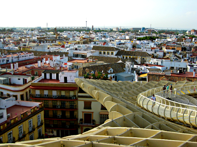 View from Metropol Parasol