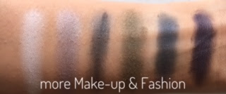Maybelline The Rock Nudes Lidschattenpalette - Review - Swatches