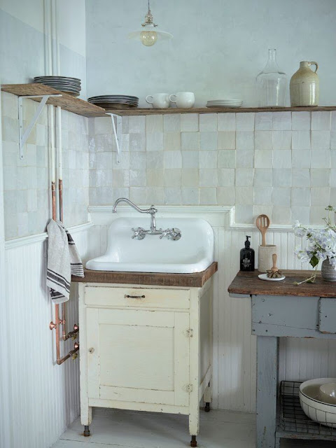 Rustic modern apartment with vintage style by Zio & Sons - found on Hello Lovely Studio