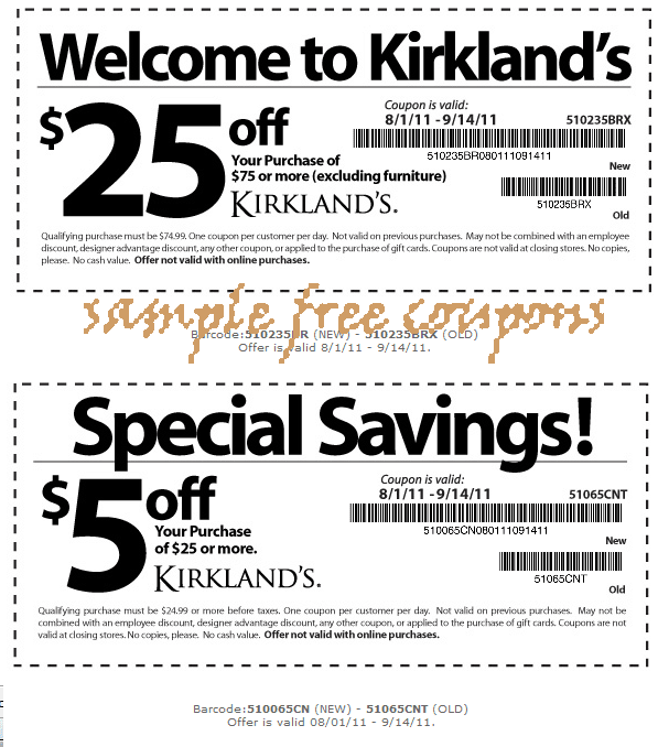 You Can See It Here --> Kirklands Printable Coupons ( You
