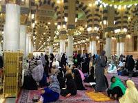 'Konser' Batuk di Masjid Nabawi