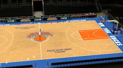 New Knicks Court - MSG Arena Chase