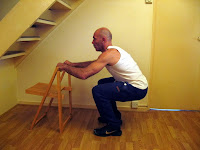 Assisted squat is a beginner leg exercise