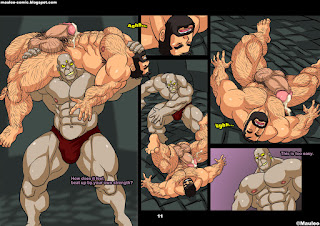 hardcore bara muscle comics