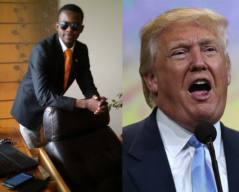 Check out how Donald Trump reacted when he got support from a Nigerian