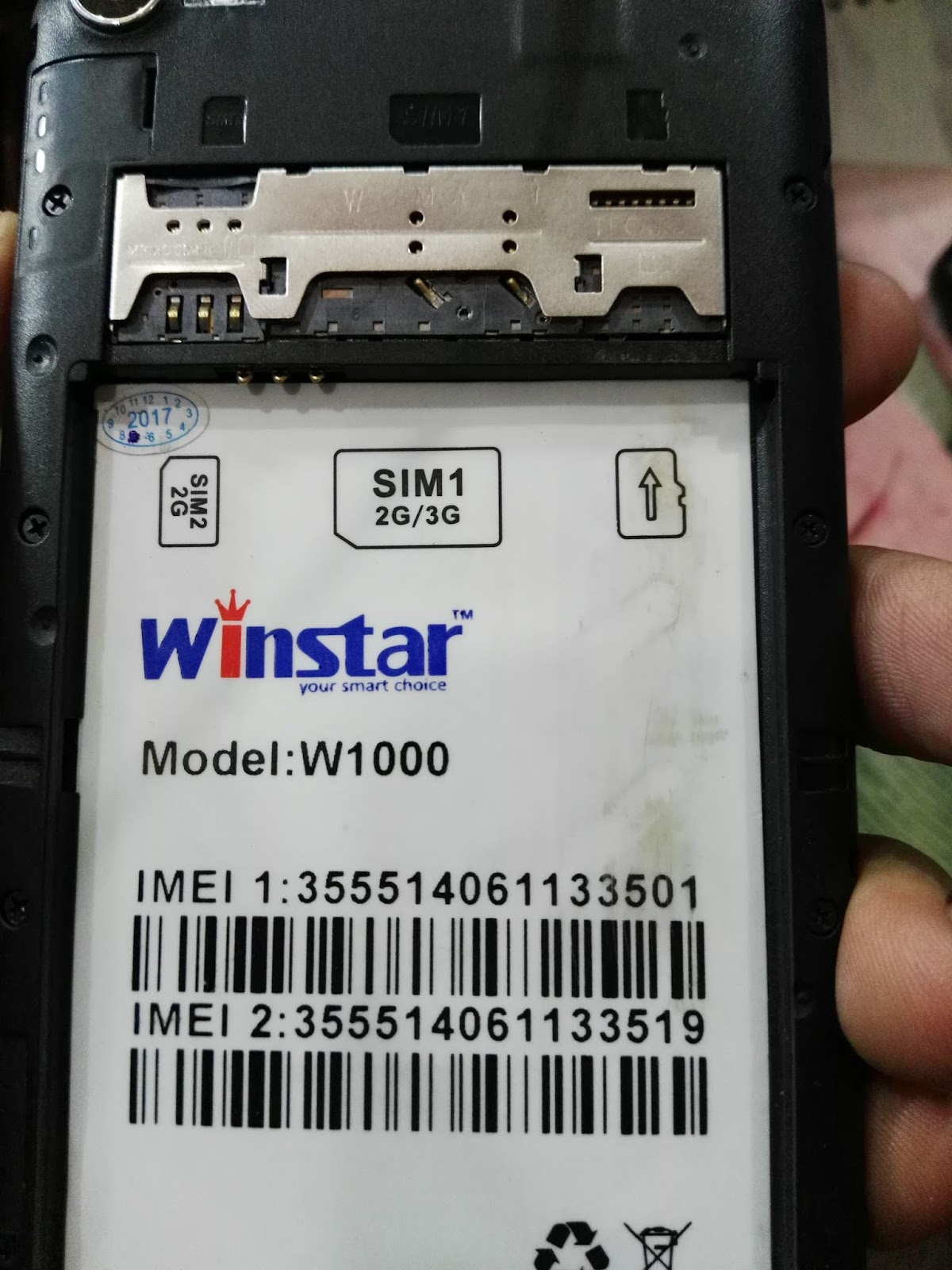 Winstar W1000 Flash File After Flash Hang On Logo Done