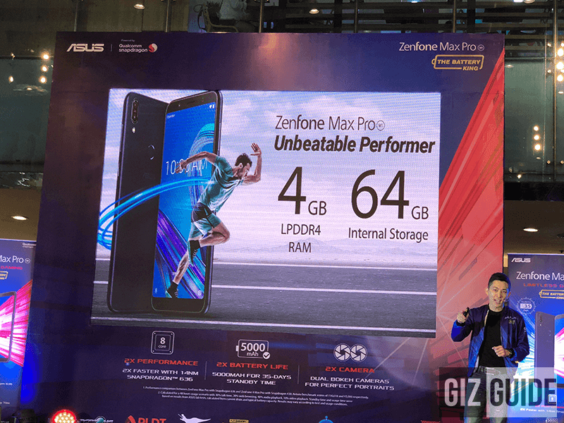 ASUS will bring the 4GB RAM/64GB ROM model of the Zenfone Max Pro M1 to the Philippines this July!
