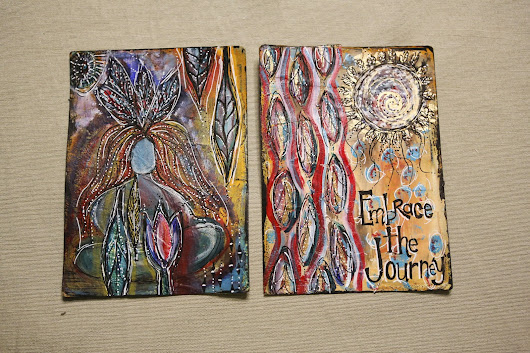 Embrace the Journey -- Art Journal