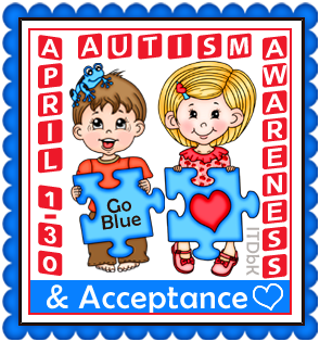 Autism Awareness from Imagine That! Digistamp