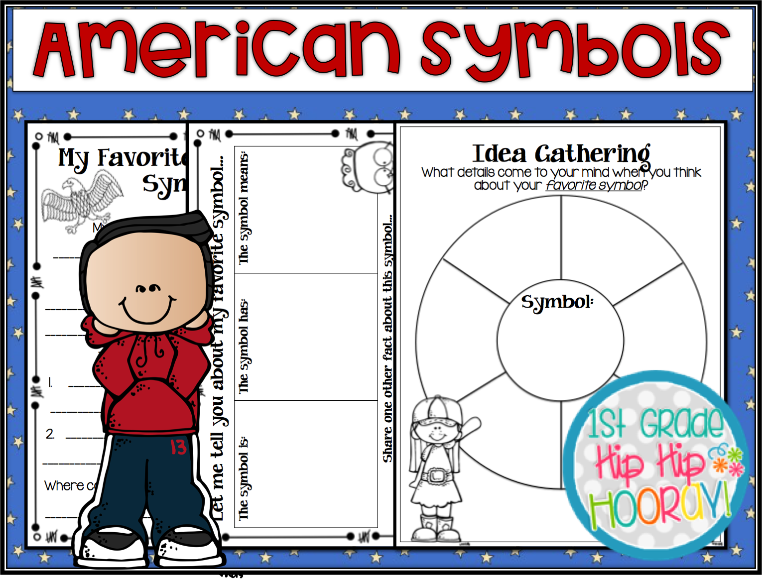 Worksheets American Symbols 1st Grade   Printable Worksheets and Activities  for Teachers [ 1163 x 1530 Pixel ]
