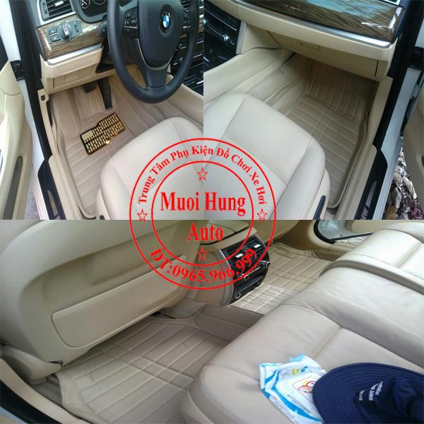Thảm Lót Sàn Ô Tô 4D Bmw Series5 GT 01