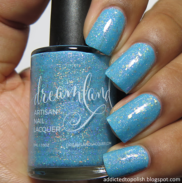 dreamland lacquer peter cotton candy tail