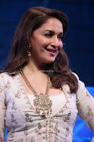 Madhuri Dixit Nene in designer Anarkali Dress at FICCI Awards 2017 004.JPG