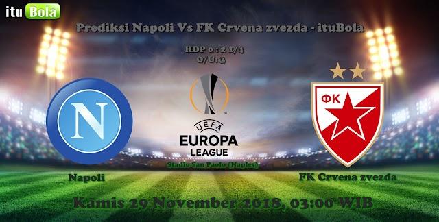 Prediksi Napoli Vs FK Crvena zvezda - ituBola