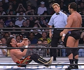 WCW Starrcade 1997 review - Eddie Guerrero backs off from Dean Malenko
