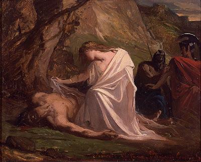 Benjamin-Constant  Antigone et Polynice