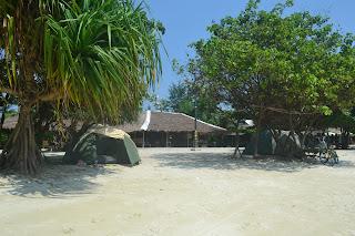 kemah ceria pulau pari great adventure indonesia ( gtgaid ) pantai pasir perawan pulau pari