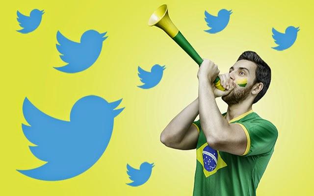Twitter Estadísticas Brasil 2014