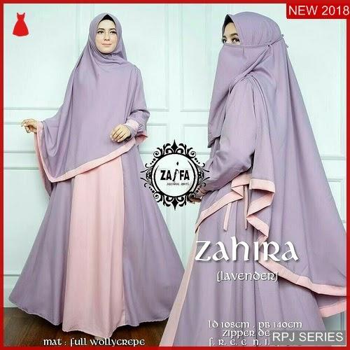 RPJ084D123 Model Dress Zahira Cantik Syari Wanita