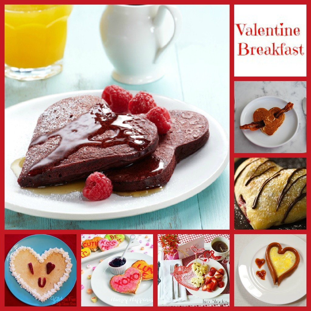 healthy valentines day breakfast - HD1024×1024