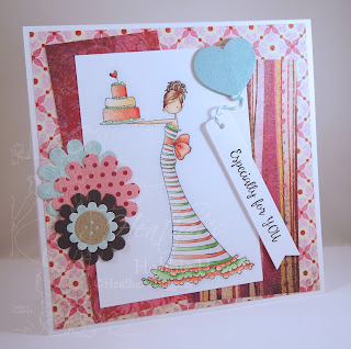 Heather's Hobbie Haven - Brittany the Birthday Girl Card Kit