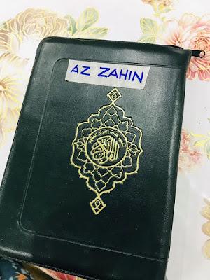 Zahin Dah Boleh Baca Al-Quran