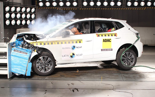 Seat Ibiza 2019 - VW Polo - Crash Test