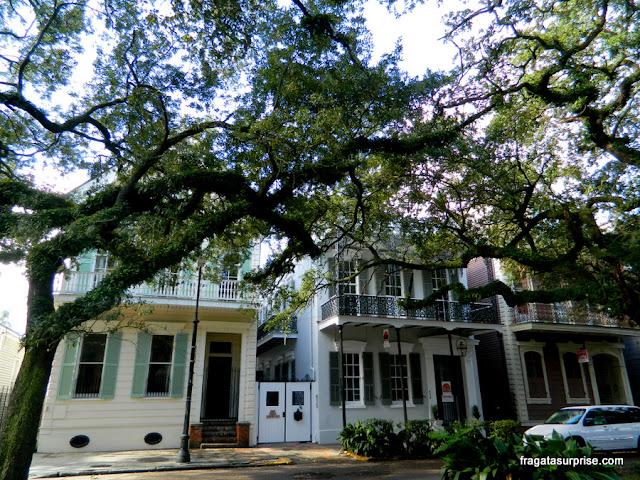 Esplanade Avenue, localização do Lamothe House Hotel em Nova Orleans