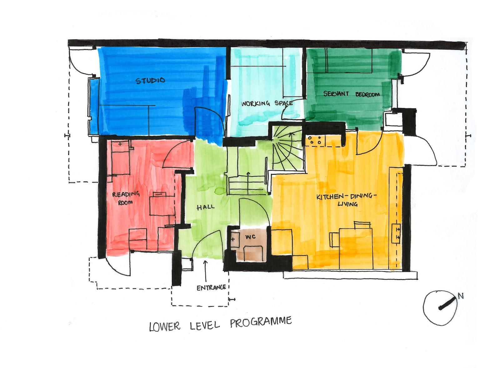 Villa Savoye Floor Plans The Rietveld Schroder House Diagrams An In Depth
