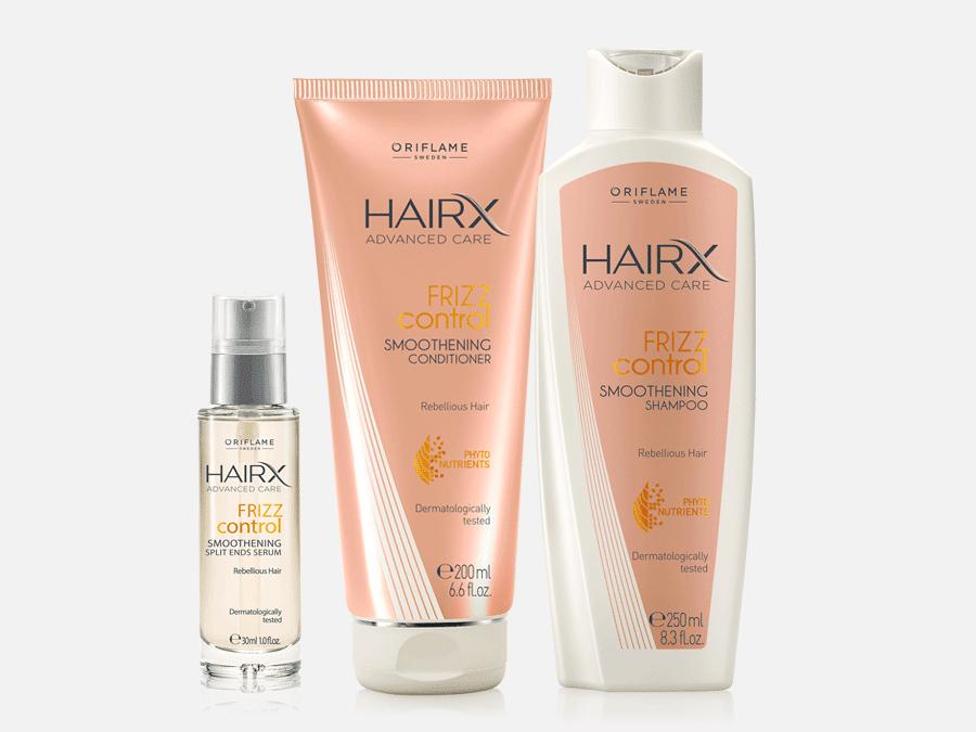 HairX da Oriflame - Frizz Control