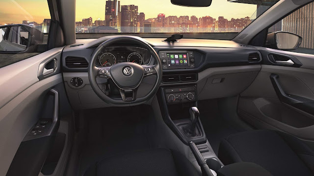 VW T-Cross 200 TSI AT - interior