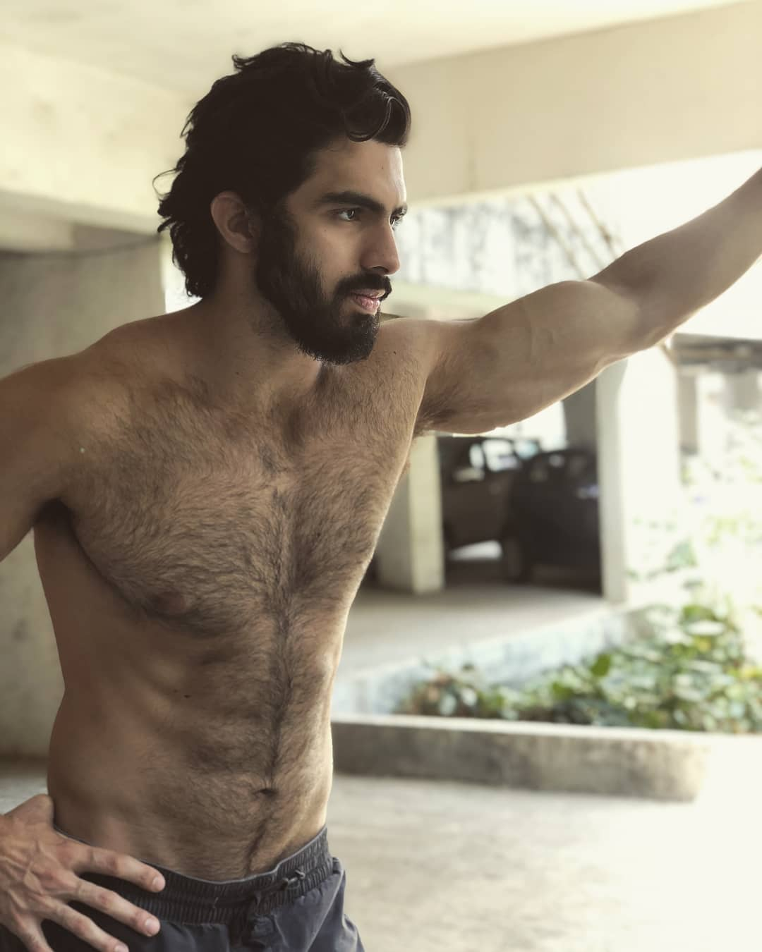 The Hot Indian Male Model Karran Kharas Proved That Hairy