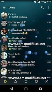 BBM Transparant Yellow V3.1.0.13 Apk Terbaru