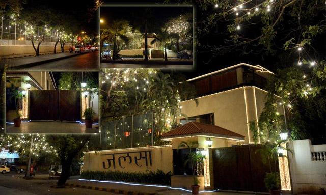 Amitabh Bachchan New House Jalsa