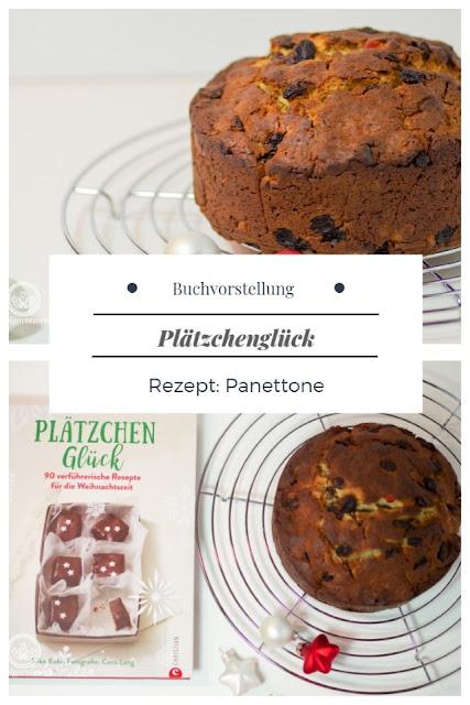 {Buchwerbung} Plätzchenglück, erschienen im Christian-Verlag, ist das ultimative Buch für Weihnachtskekse. Als Rezept gibt es einen italienischen Panettone. #plätzchenglück #weihnachten #topfgartenwelt
