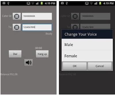 أفضل تطبيقات تغير صوت المتكلم و الرقم عند الاتصال بأي شخص مع دقائق مجانية تجريبية
