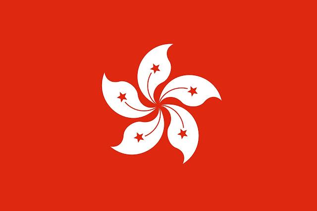 bandiera di Hong Kong