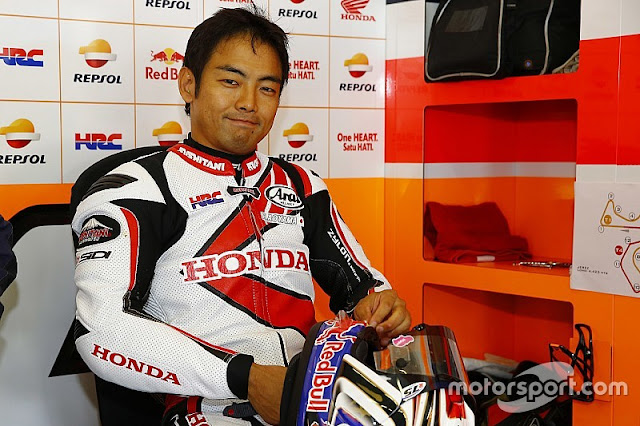 berita motogp : Aoyama Gantikan Pedrosa