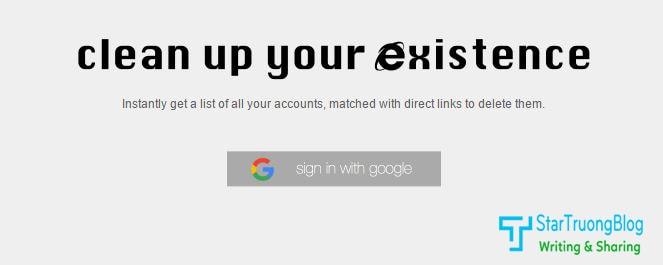 Xoá hết thông tin của bạn trên internet chỉ với vài click