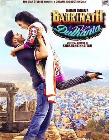 Badrinath Ki Dulhania 2017 Hindi  300MB  720p HEVC Watch Online Free Download world4ufree.org