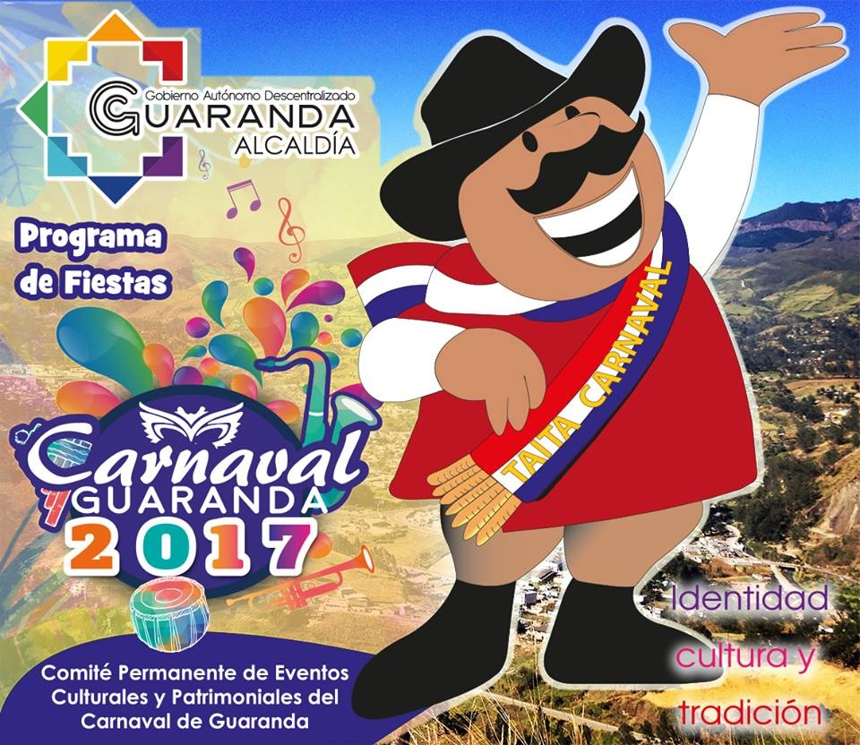Programa completo Fiestas Carnaval de Guaranda 2017